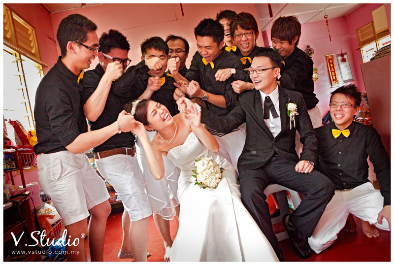 Eric Celeste Actual Wedding Day Klang 27